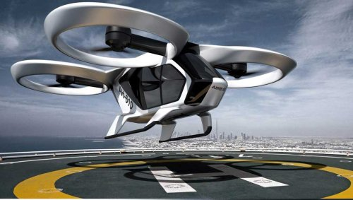 GE Rival Rolls-Royce To Develop Key Air Taxi Technology