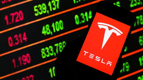 Tesla Announces Five-For-One Stock Split As Shares Jump