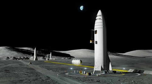 NASA Picks SpaceX For Moon Mission; 'Writing Is On The Wall' For Boeing Rocket