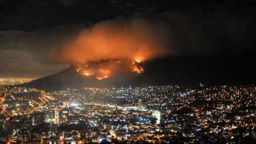 Cape Town fire, which damaged UCT buildings, likely started as a malicious act