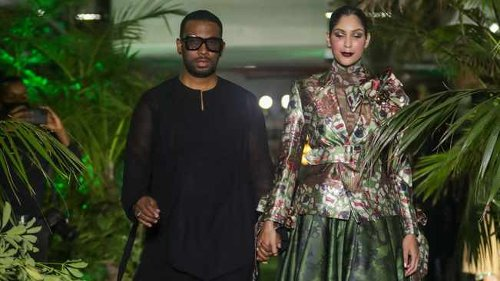 LOOK: David Tlale launches 'The Veterans Pursuit' collection in celebration of Africa Month