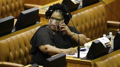 DA to report ANC chief whip Pemmy Majodina over son's PPE contract