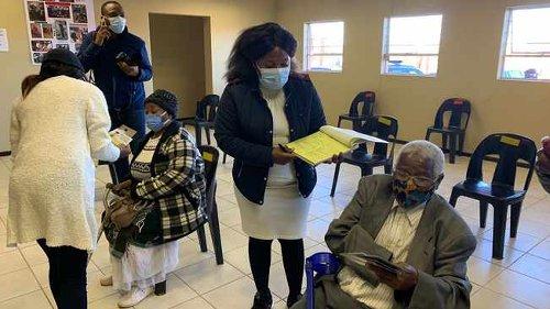 Orlando Pirates Chairman Irvin Khoza among senior citizens vaccinated