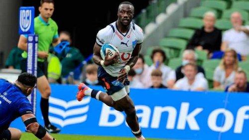 Jake White coy about Madosh Tambwe's disallowed try against Edinburgh