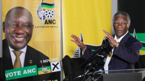 Thabo Mbeki says government will not provide jobs, roads, sewer and houses on its own - business must assist