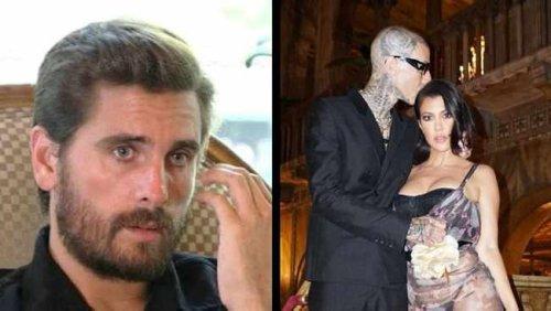 Tweeps poke fun at Scott Disick after Kourtney Kardashian & Travis Barker's engagement