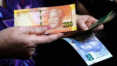 Rand powers up on positive retail sales