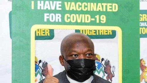 PICS: KZN Premier receives Covid-19 vaccine