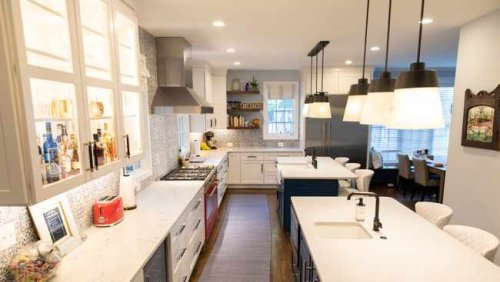 Why we ditched our dining room for a colossal kitchen