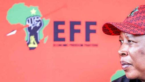 WATCH: Stellenbosch belongs to the EFF, Julius Malema tells supporters while on the election campaign trail