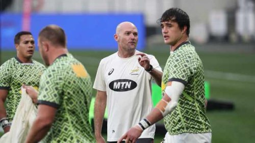 Jacques Nienaber hopes the Springboks can 'evolve'