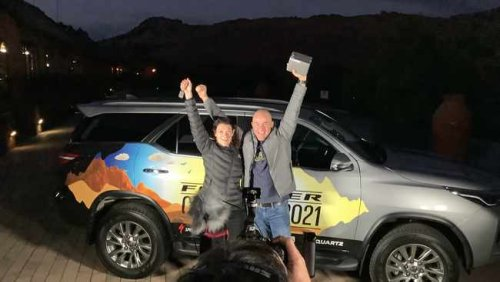 Annerie Kemp wins Toyota Fortuner for husband who is battling cancer