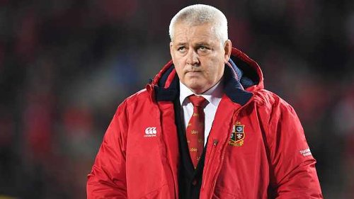 Warren Gatland warns Lions to roll up their sleeves and match Springboks' physicality