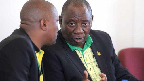Cyril Ramaphosa says Oscar Mabuyane within his right to review Mkhwebane's report