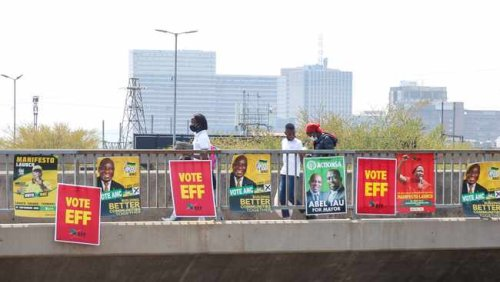 Parties in Western Cape racing against time to woo voters