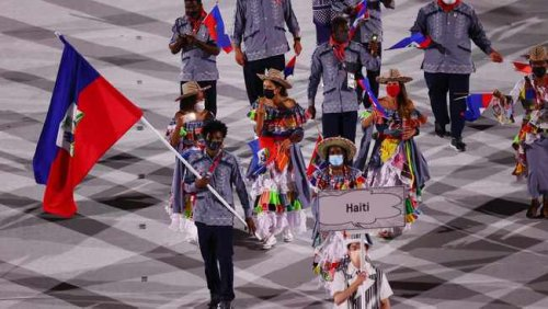 South Korean TV network sparks furore over offensive images and captions during Olympics opening ceremony