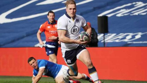 Lions wing Duhan van der Merwe was a great prospect in SA, says Deon Davids