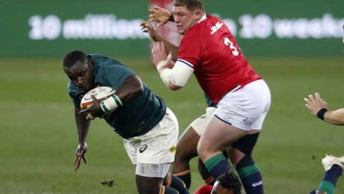 Trevor Nyakane was 'unbelievable' against the Lions, says Steven Kitshoff after Springboks win