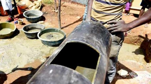 Fears illegal gold mining camp 'could result in Johannesburg's own Chernobyl'