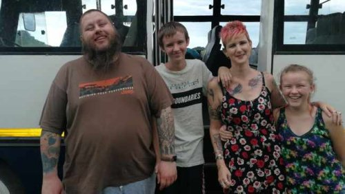 Why this Durban family swopped their four-bedroom house for a bus and hit the road