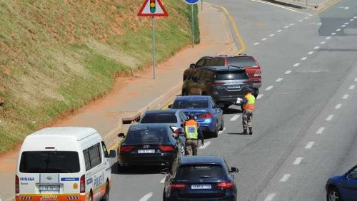 Cop shot in the leg, another run over at a roadblock in Joburg