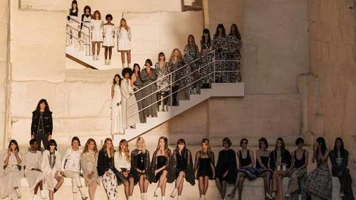 Chanel's cruise line fashion show adds a touch of rock at Provence quarry