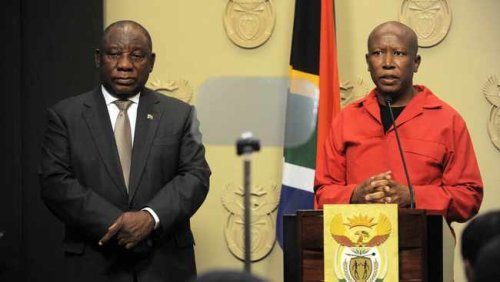 Cyril Ramaphosa and Julius Malema head to Western Cape as campaigning for local government elections heats up