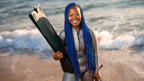 Zandile Ndlovu, SA's first black freediving instructor, is bringing about change in the diving world