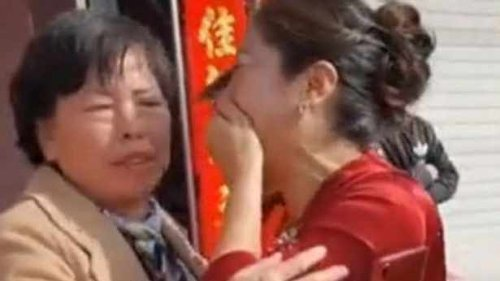 This is crazy! Mother of the groom turns out to be the mother of the bride as well