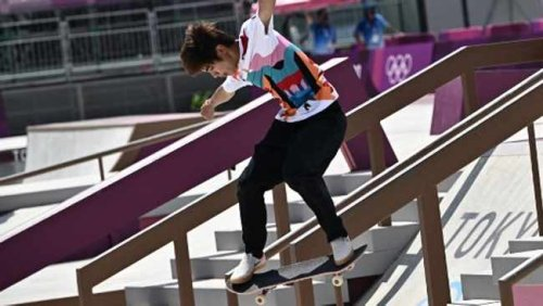 Skateboarding's first Olympic gold medallist crowned after tense street battle