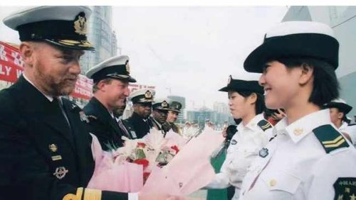 Naval diplomacy strengthens ties between China and South Africa