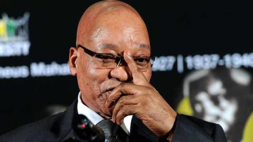 Jacob Zuma back in his prison cell after burying younger brother Michael in Nkandla