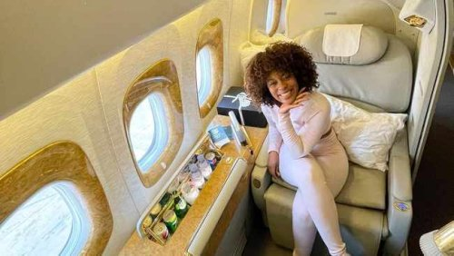 Chasing terminals with Nomzamo Mbatha: The star's new Instagram travel page is goals