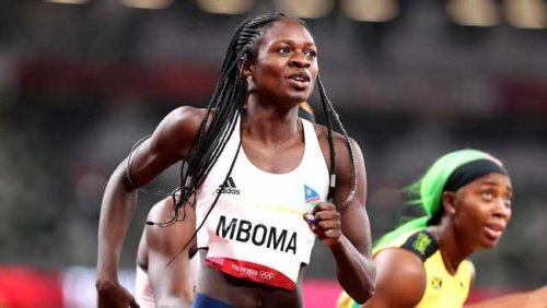 Namibian DSD athlete Christine Mboma claims silver in women's 200m