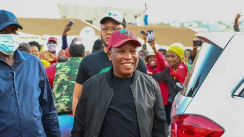 WATCH: Julius Malema says those without basic services are treated as animals