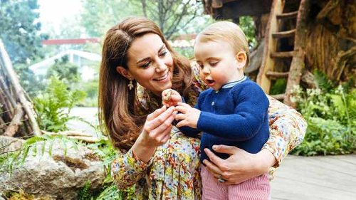 WATCH: Duchess Kate admits she can't keep up with Prince Louis and his scooter