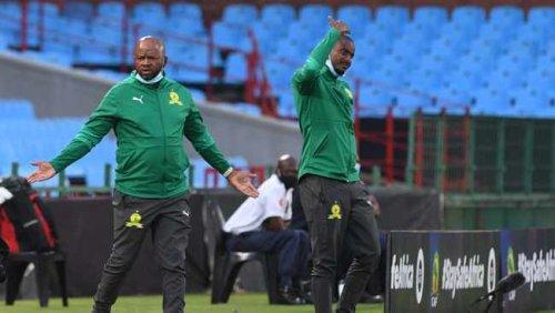 Themba Zwane brace helps Sundowns draw against AS Maniema Union in DR Congo