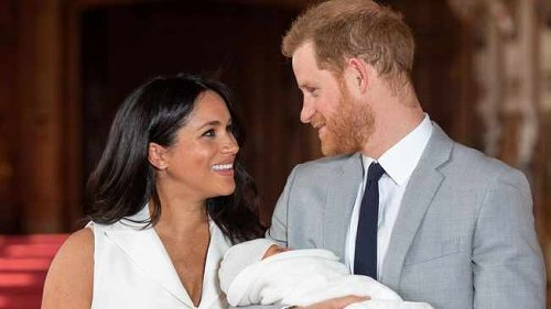 LOOK: Harry and Meghan release picture of Archie to mark his 2nd birthday but blink and you'll miss him