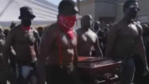 Shock over saucy acts at exotic dancer Mduduzi 'Cardbury' Zwane's funeral