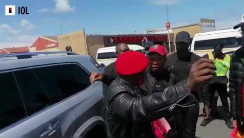WATCH: EFF's Julius Malema has started his election campaign in Mitchells Plain