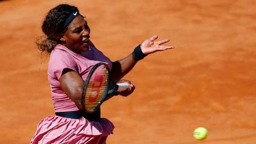 'History maker' Serena Williams crashes out of Italian Open in 1000th career match