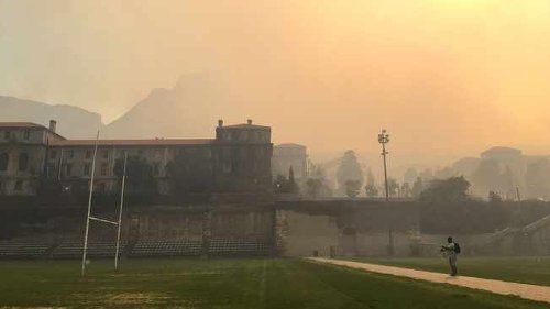 Cause of Rhodes Memorial blaze believed to be an unattended vagrant fire