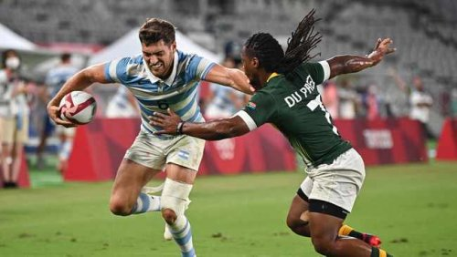 Blitzboks blow it as six-man Argentina pull off huge upset to reach Olympic semi-finals
