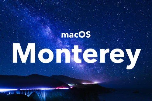 Les Mac accueillent leur quatrième bêta publique pour Monterey