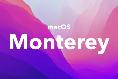 Les nouveautés macOS Monterey sont disponibles : liste complète