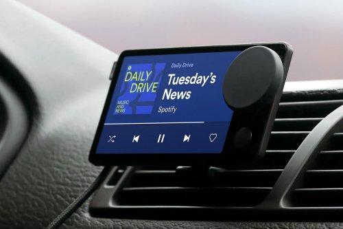Spotify lance le Car Thing pour agrémenter les voyages en voiture