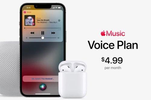 Voice Plan : un duo entre Apple Music et Siri se dessine