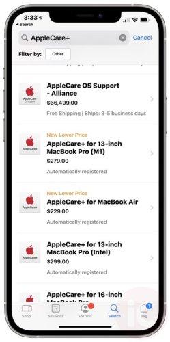 AppleCare+ for 13″ M1 MacBook Air, MacBook Pro Gets Price Drop in Canada