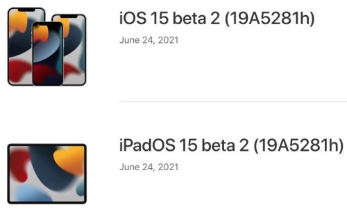 iOS 15 Beta 2 Download and More Released for Developers