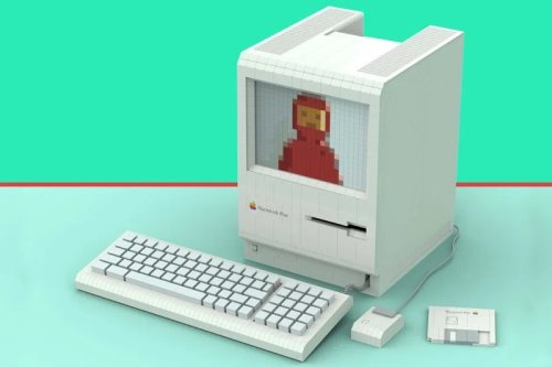 This Epic 1986 Apple Macintosh Plus is Made Entirely of Lego and Needs Your Vote